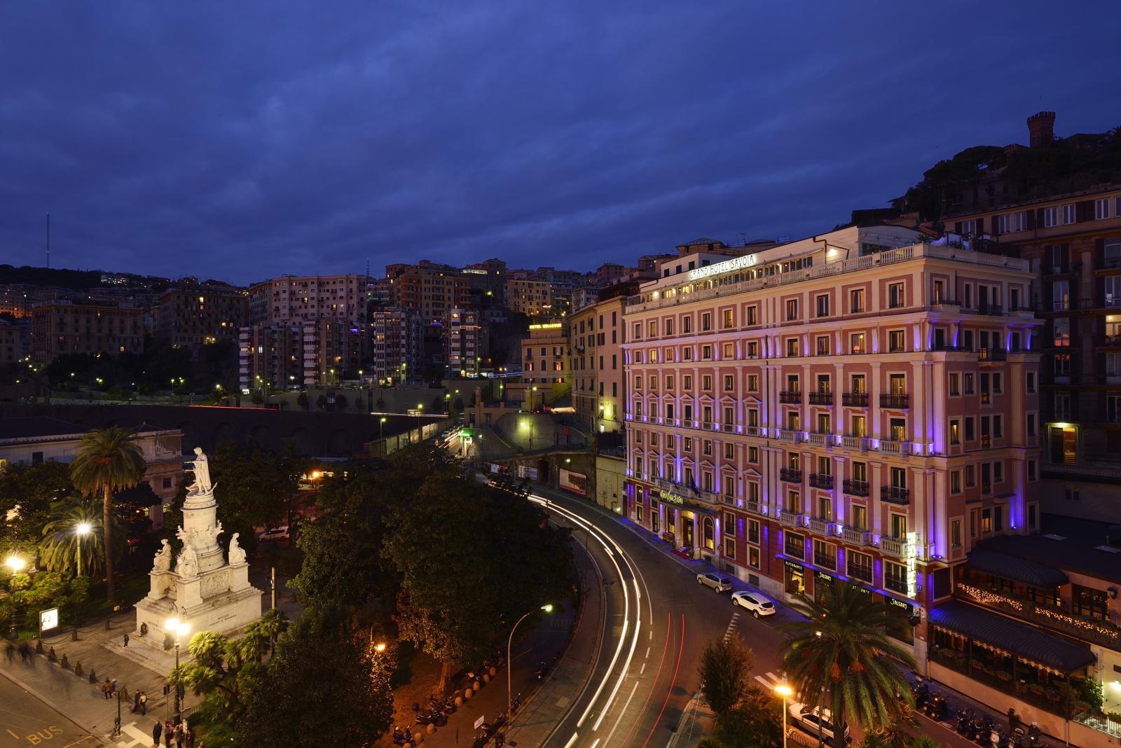 Grand Hotel Savoia Secret Beach In Genoa