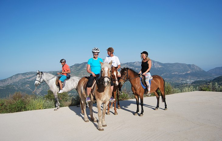 Olympos horse riding