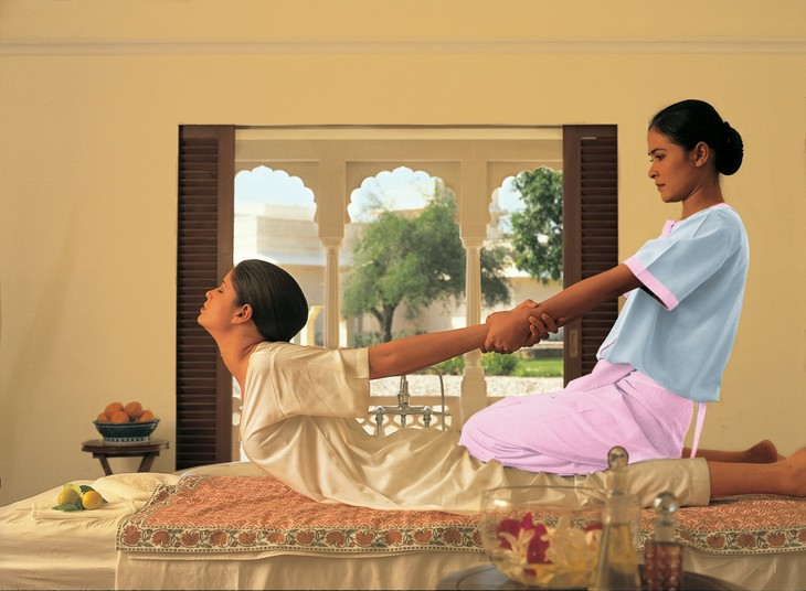 The Oberoi Spa massage