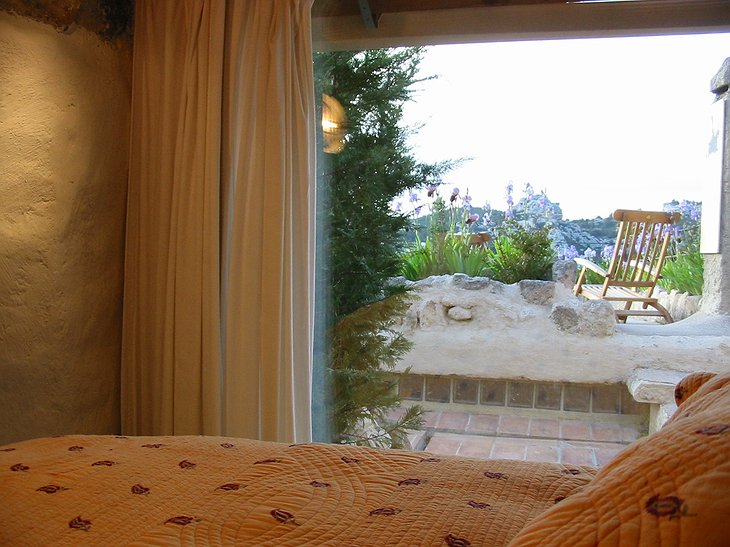 Prince Noir hotel room with view