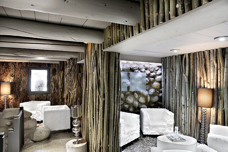 Pure Altitude Spa relax rooms