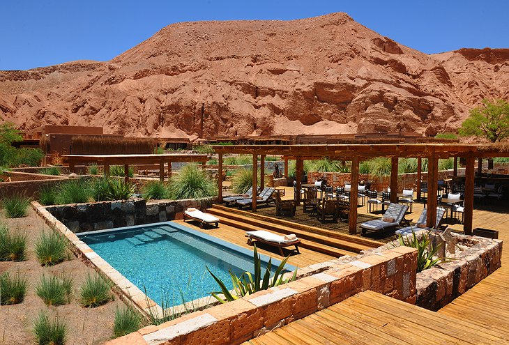 Alto Atacama swimming pool
