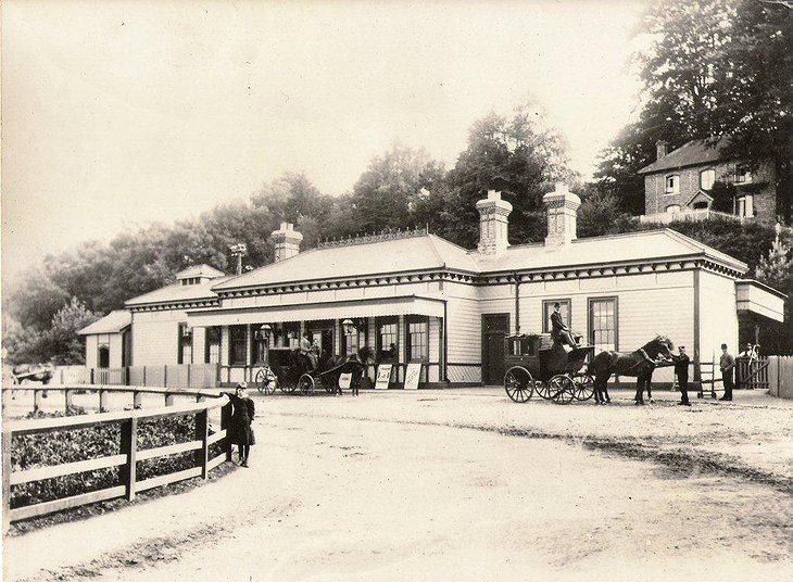 Petworth Station in 1892
