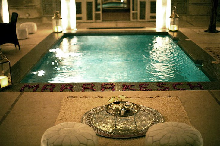 Riad AnaYela pool
