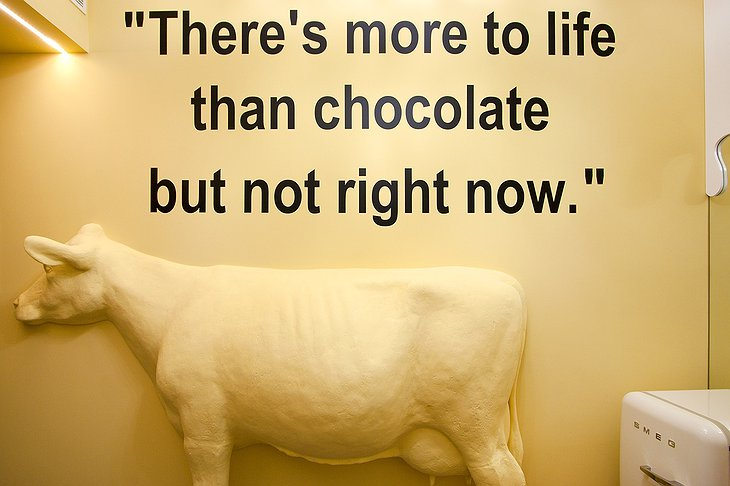 There's more to life than chocolate but not right now
