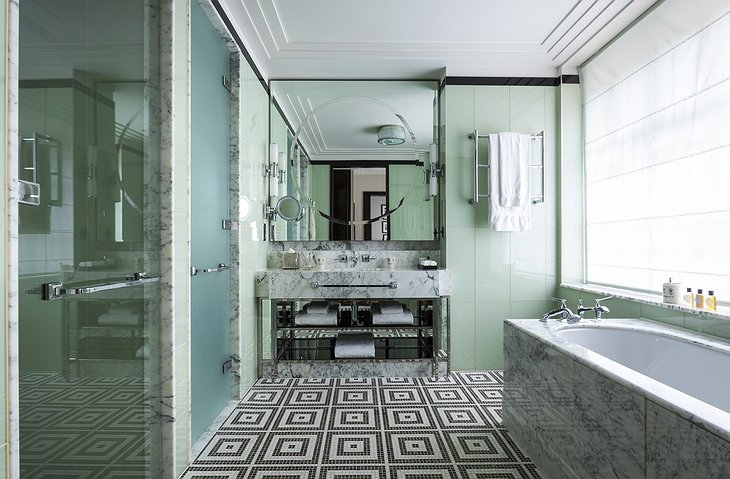 The Beaumont Hotel bathroom