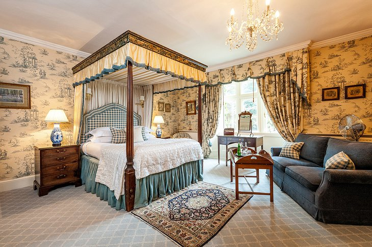 The Bath Priory Hotel deluxe room