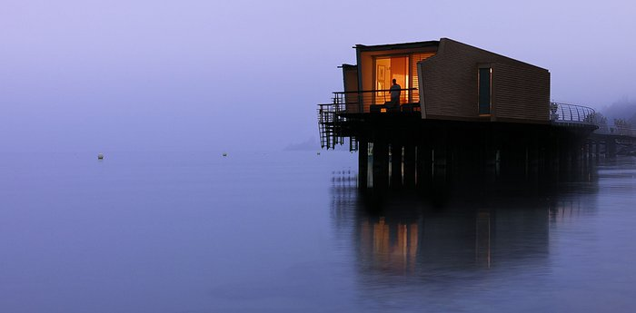 Hotel Palafitte - Japanese Minimalism In Over-Water Bungalows