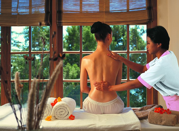 The Oberoi Cecil spa massage