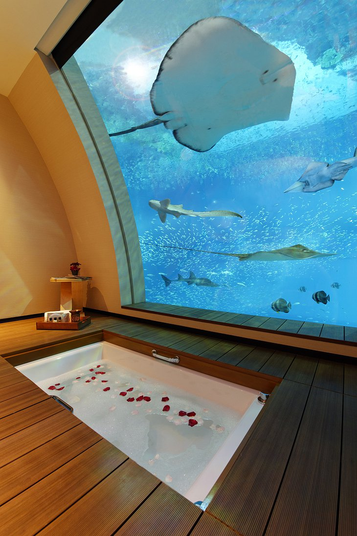 Underwater Ocean Suites bathroom