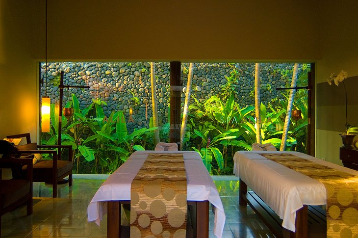 Alila Ubud spa treatment room