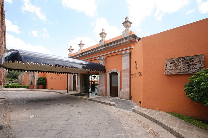 Quinta Real Zacatecas entrance