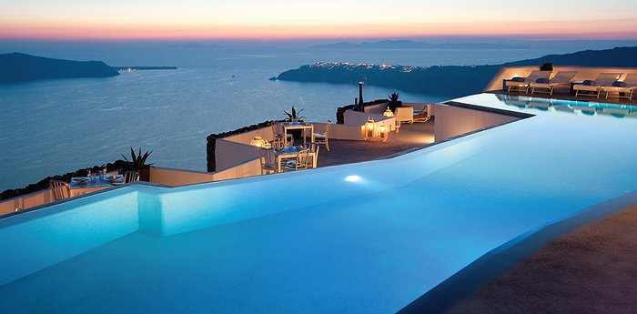 The Grace Santorini - Sunsets Over The Aegean Sea