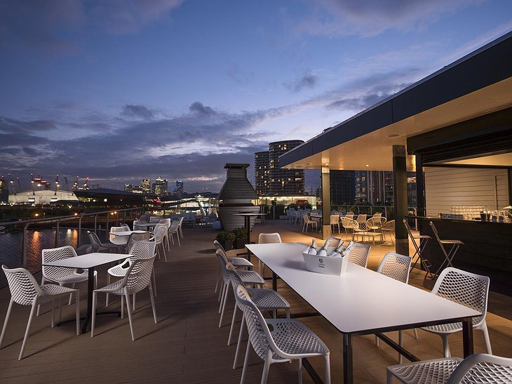 Good Hotel London rooftop terrace