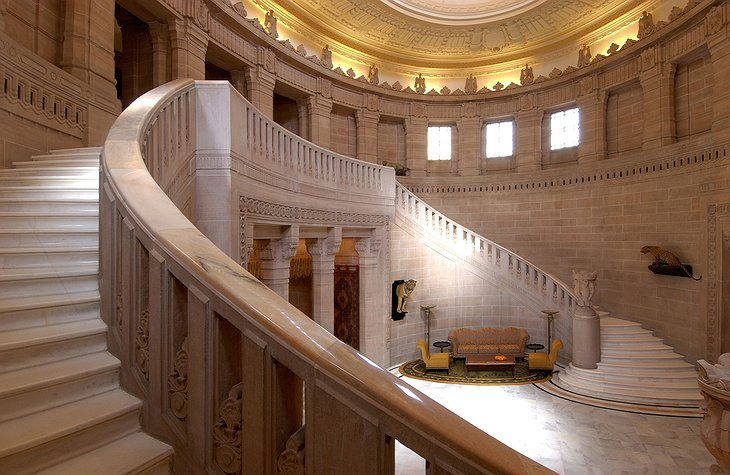 Umaid Bhawan Palace stairs