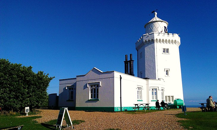 South Foreland Lighthouse courtyard