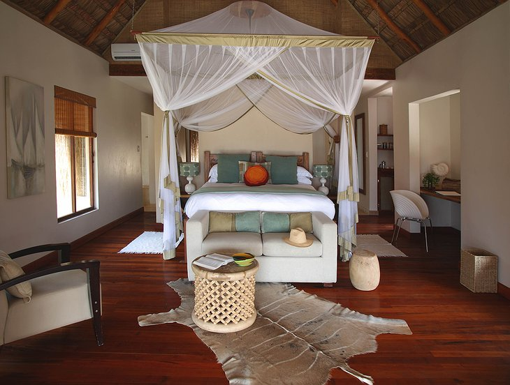 Luxury Beach Villa bedroom