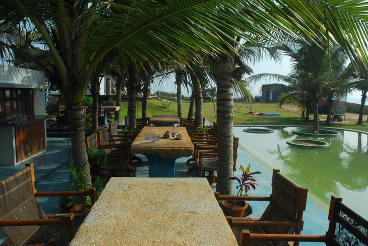 The dune eco village and spa for Villas in pondicherry with swimming pool