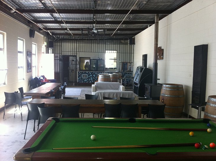 Bar with pool