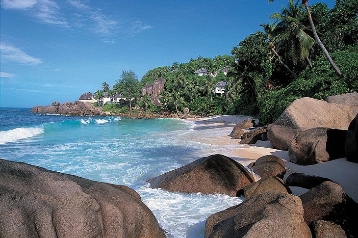 Indian Ocean and Banyan Tree Seychelles