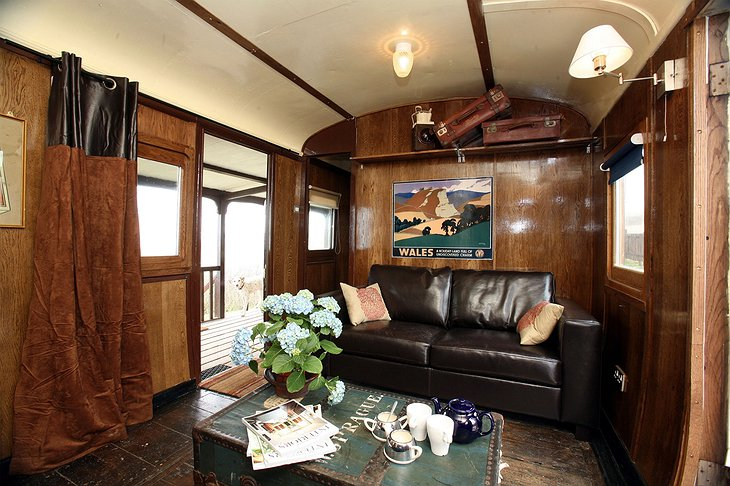 Wendy - The Aberporth Express living room