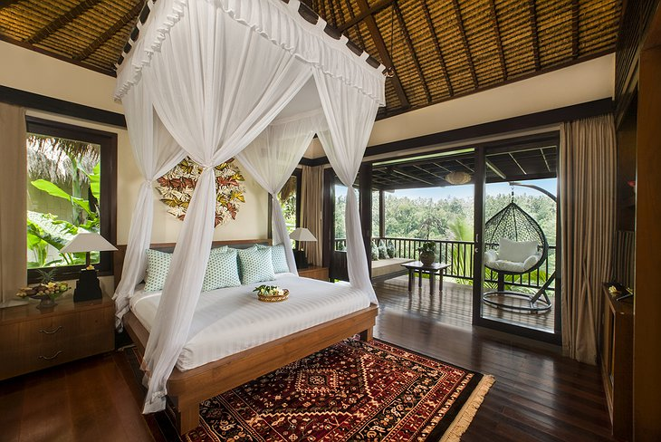 Nandini Jungle Resort Panorama Villa Bedroom