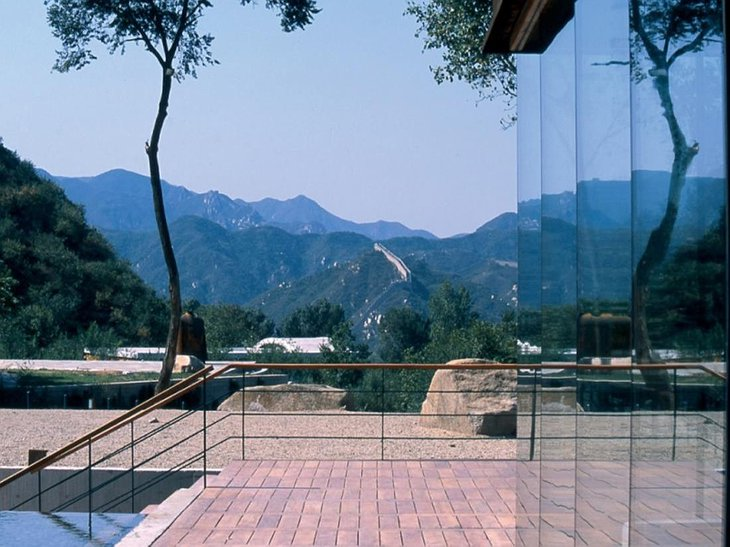 Commune by the Great Wall glass windows
