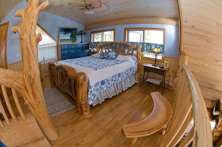 The Lodge at Chilko Lake bedroom