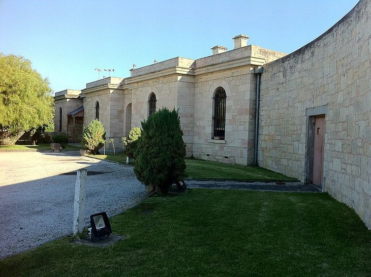 Old Mount Gambier Gaol exterior