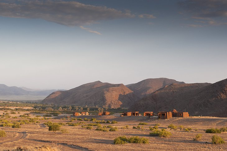 Okahirongo Elephant Lodge in the Namibian desert