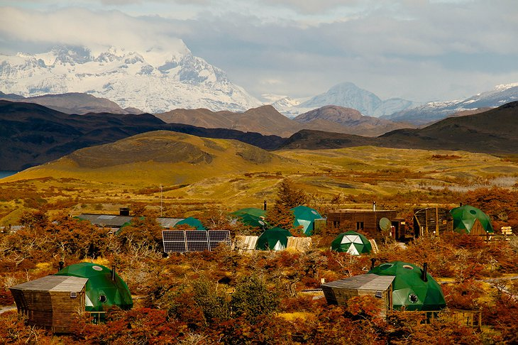 EcoCamp Patagonia in the Torres del Paine National Park