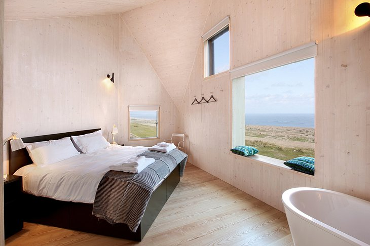The Dune House room