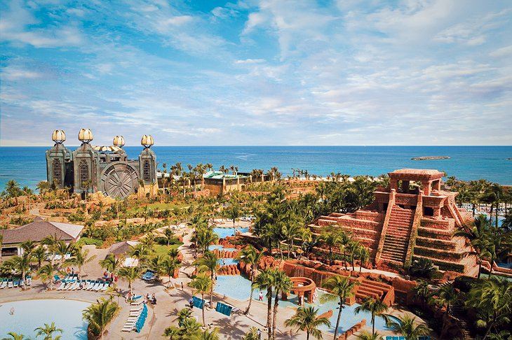 Aquaventure and Mayan Temple