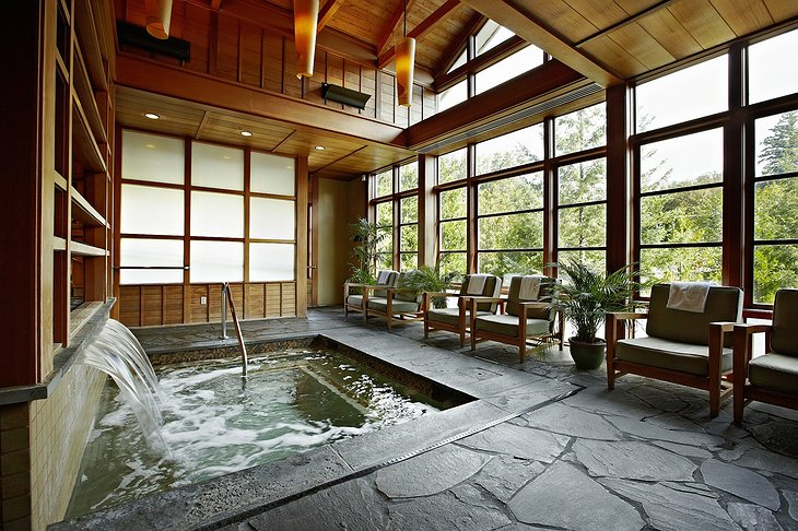 Salish Lodge Spa Pool