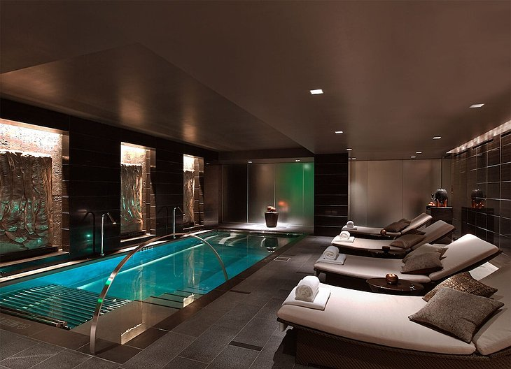 The Joule Dallas Wellness Indoor Pool