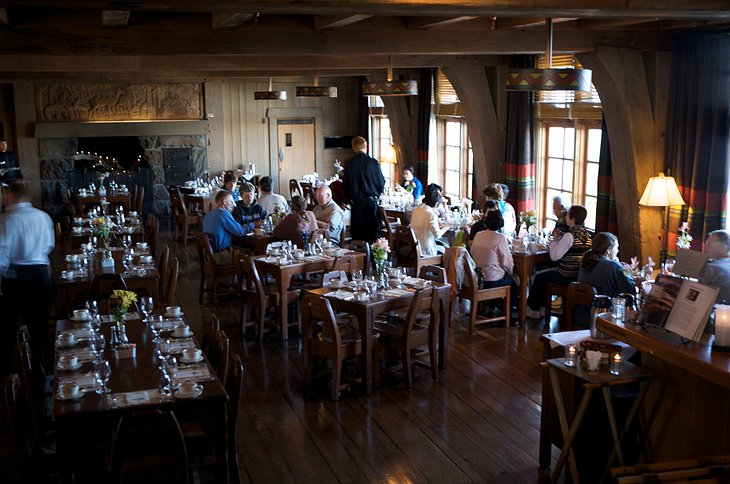 Timberline Lodge restaurant