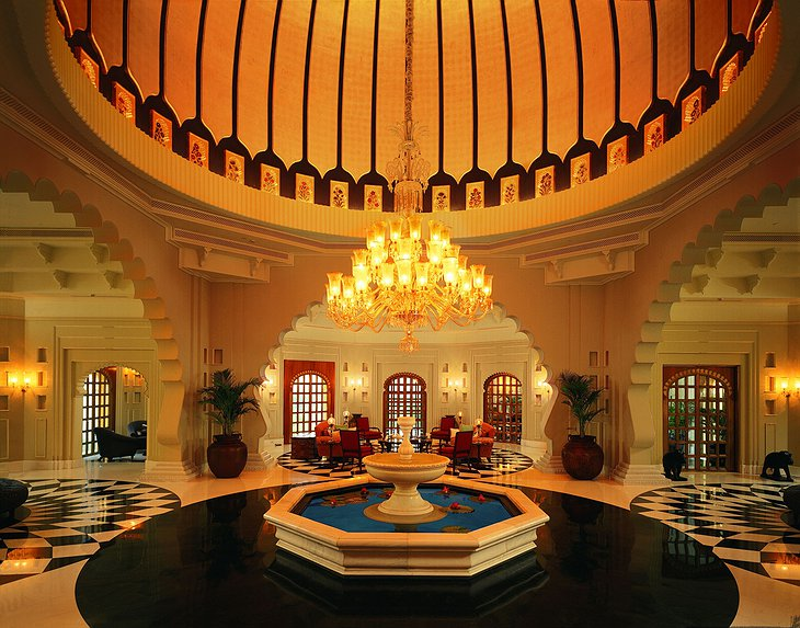 The Oberoi Udaivilas interior