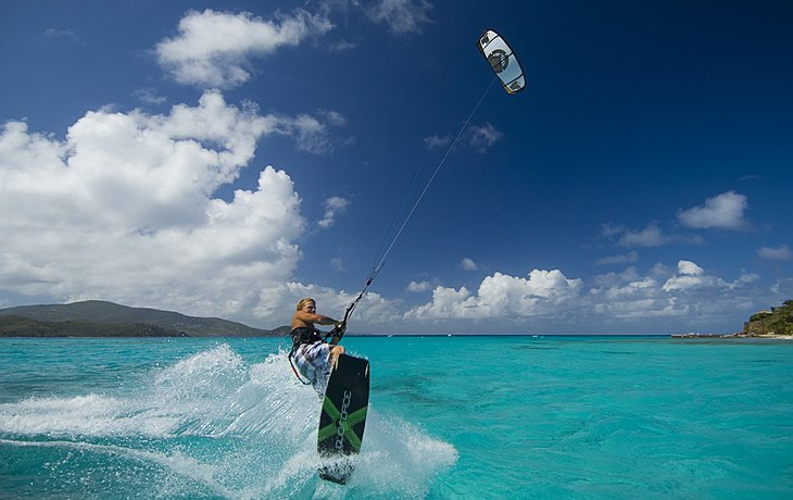 Necker Island water sports