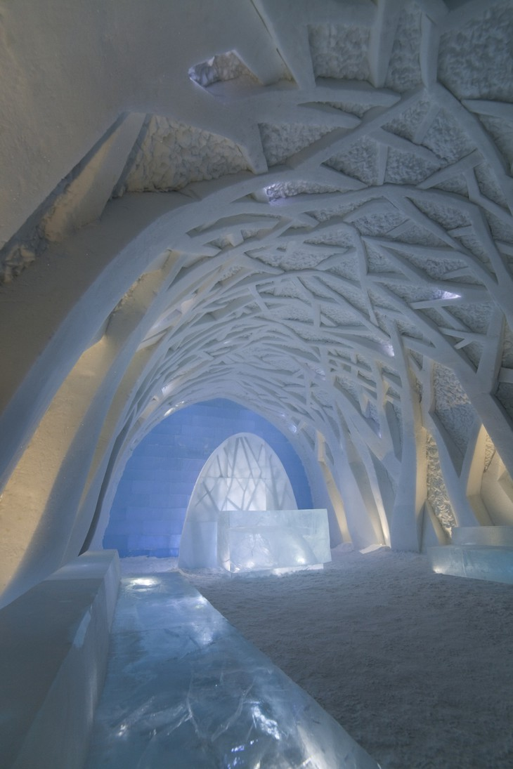 ICEHOTEL Reception - Frosty Forest