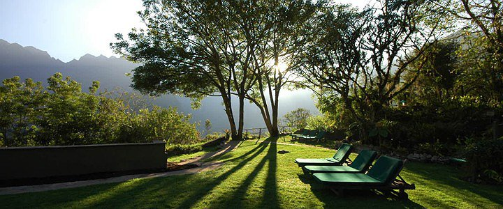 Machu Picchu Sanctuary Lodge garden