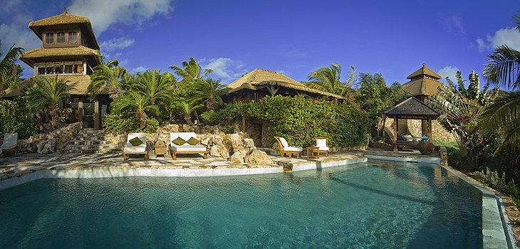 Necker Island swimming pool