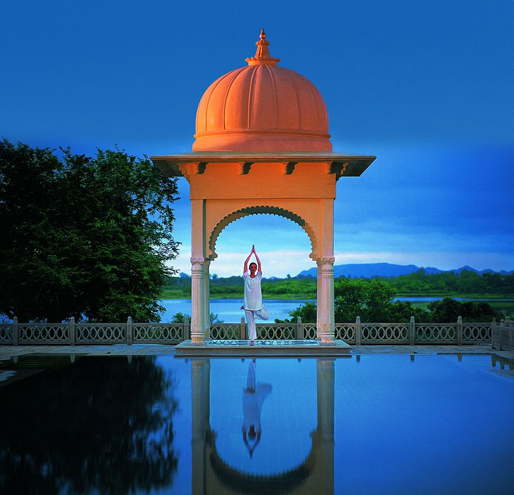 The Oberoi Udaivilas yoga