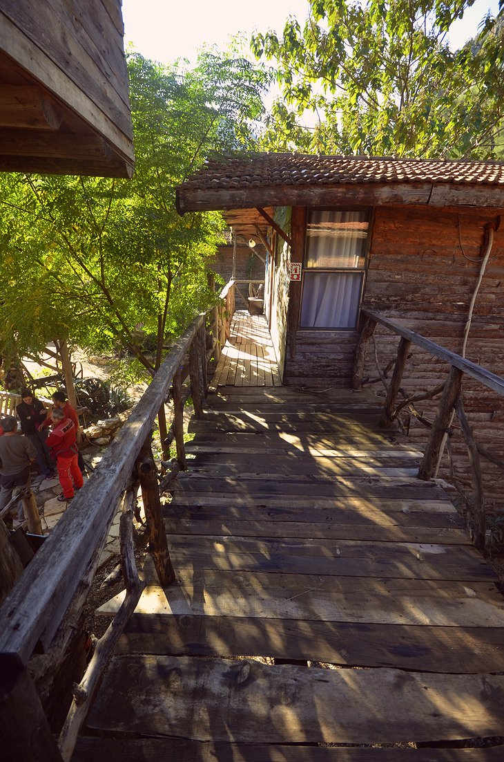 Kadir's Top Tree Houses wooden bridge