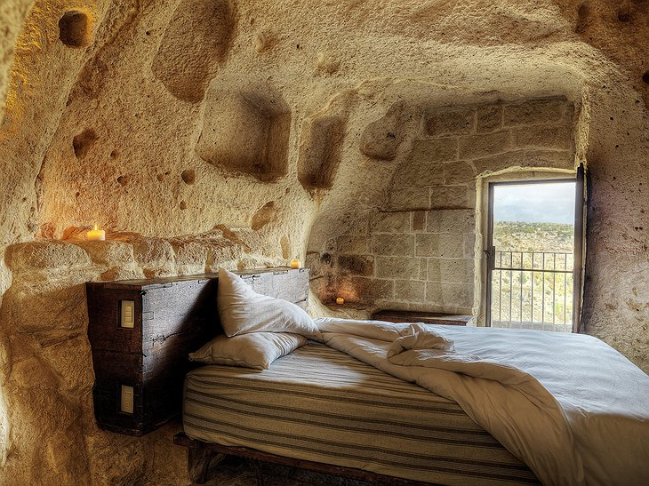 Cave room with views