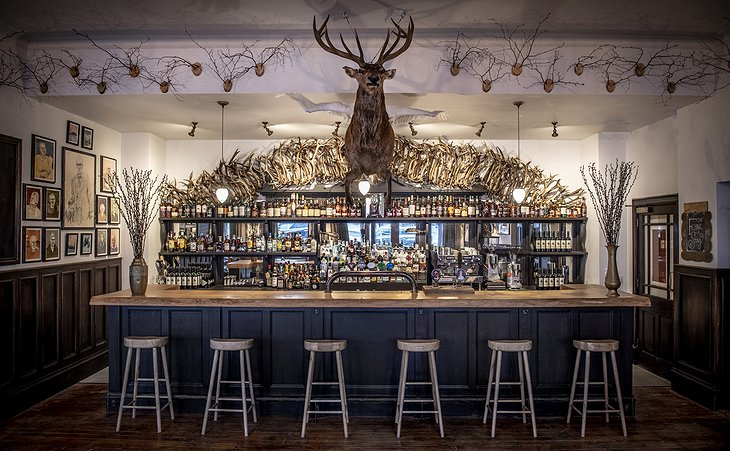 The Fife Arms, Braemar - The Flying Stag, Public Bar