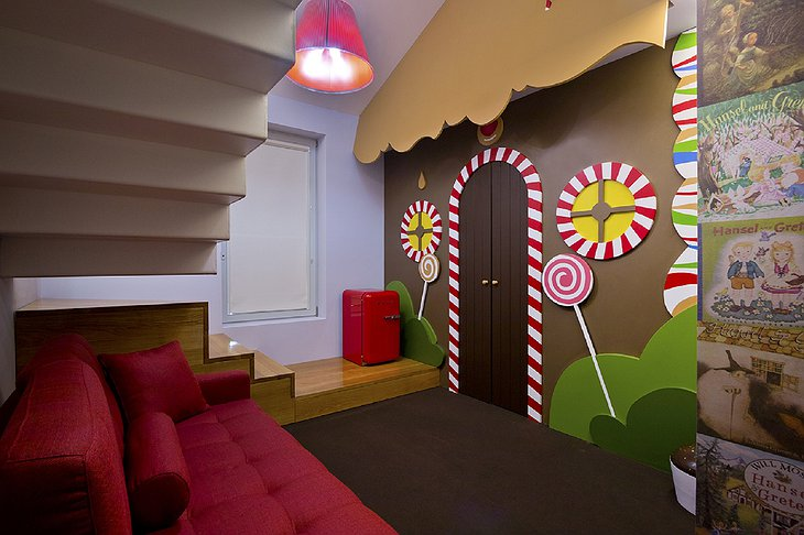 Hotel Fabrica do Chocolate kids room