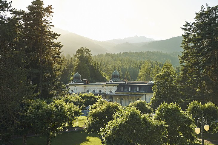 Waldhaus Flims Wellness Resort In The Forest
