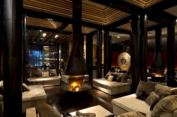 The Chedi Andermatt lobby