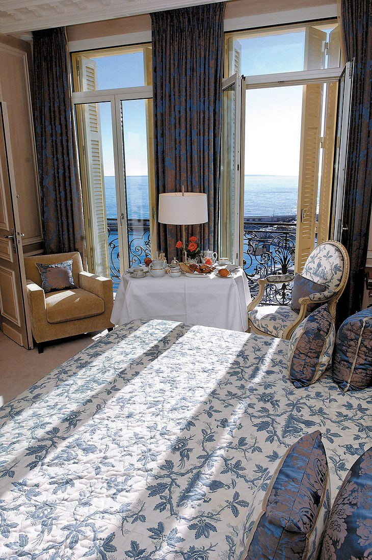 Hotel Hermitage Monte-Carlo room with sea view
