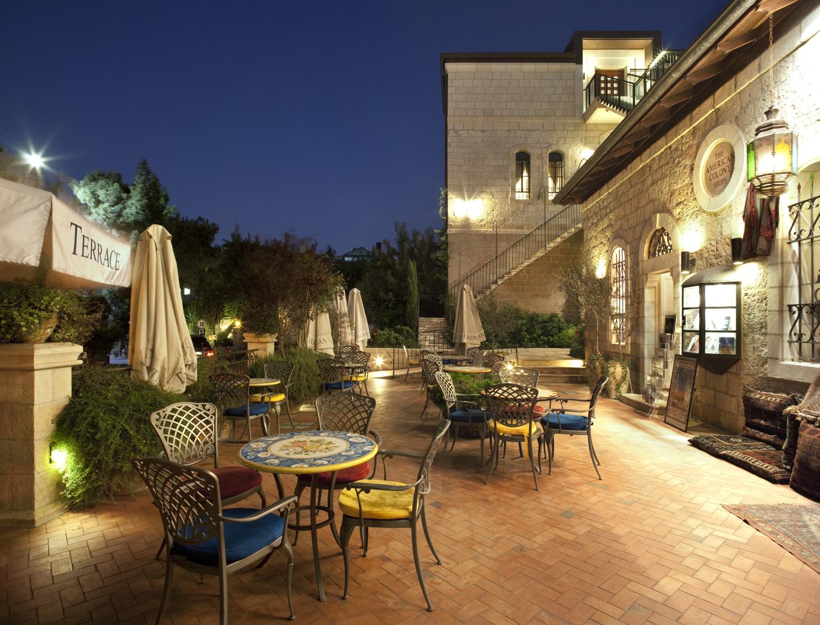American colony hotel for Design hotel jerusalem